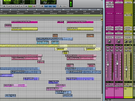 """Planets"" mixing day 01"