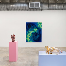Fairyland.  Extensive group show at Mindy Solomon Gallery, Miami, US. 16 April - 8 May 2021 Photograph Zachary Balber © courtesy of Mindy Solomon Gallery.