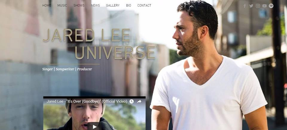 JARED LEE UNIVERSE   First Fansite   7EAST