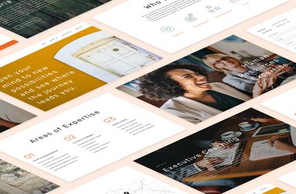 Clover Consulting Website Design