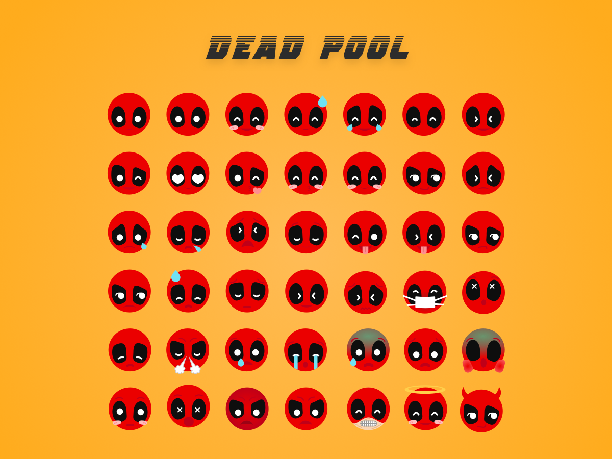 Deadpool Emoji