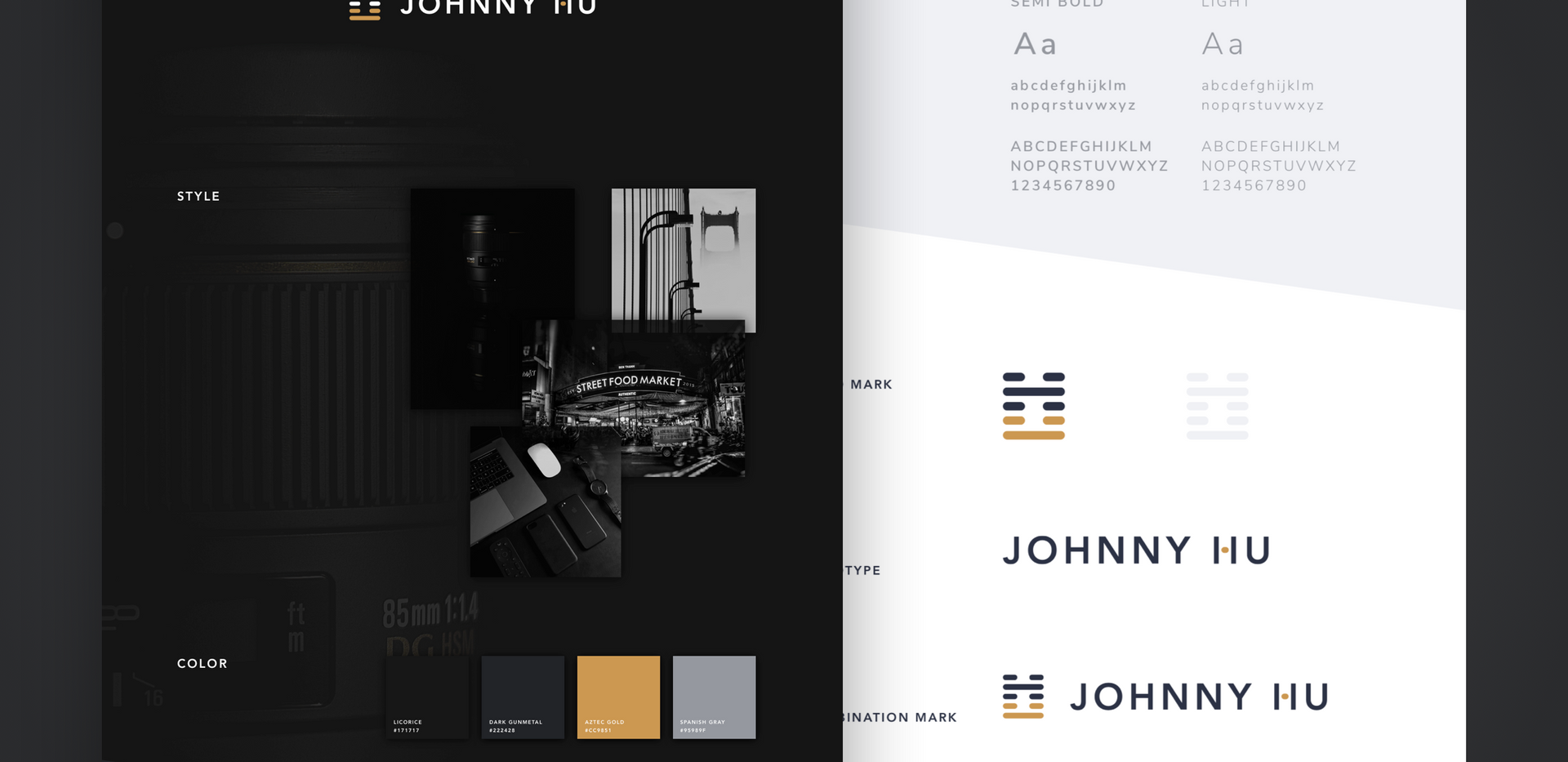 Johnny Hu Branding Project