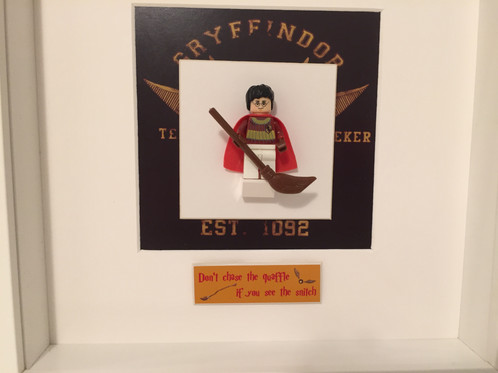 Harry Potter Quidditch Themed Frame   Frames for Minifigures
