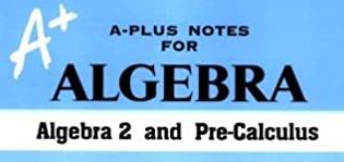 Algebra 2 & Pre-calculus