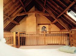 Master bedroom mezzanine