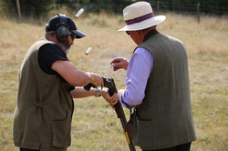 Clay Shooting team work
