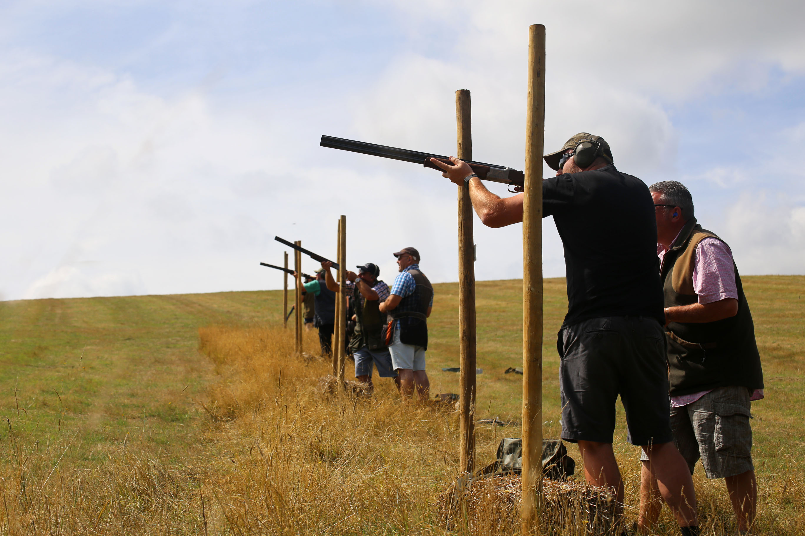 Clay Shooting 'butts'