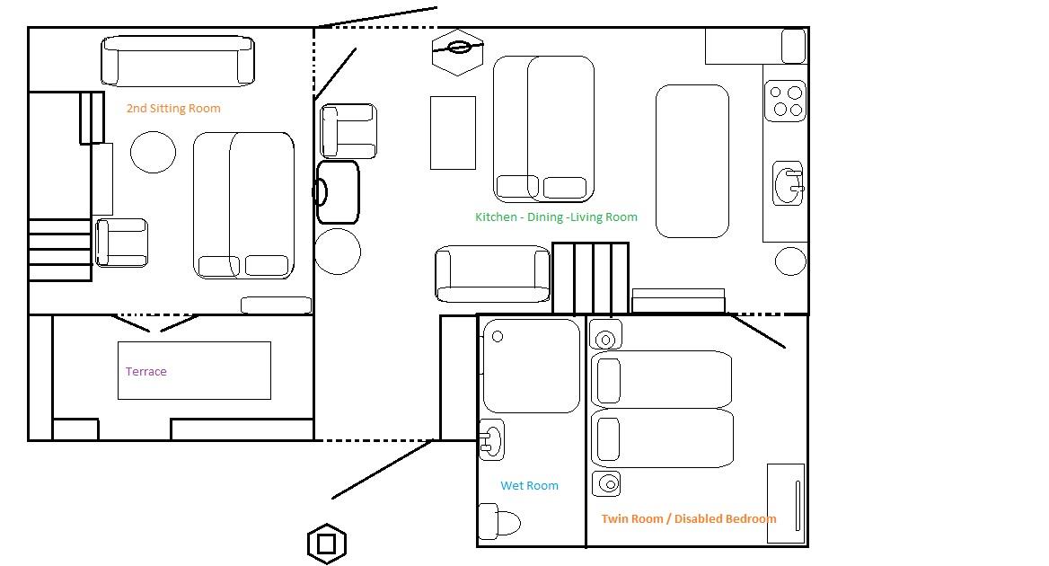 Barn ground floor plan