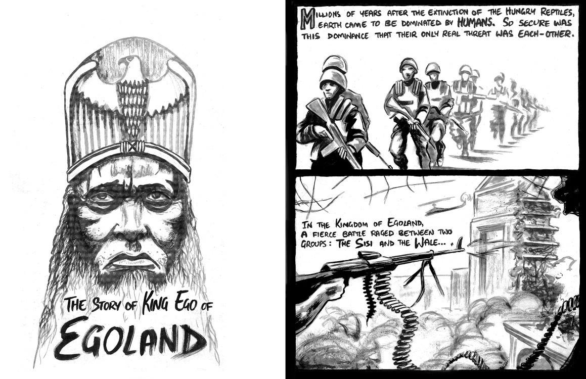 King Ego of Egoland