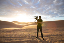Shooting Bikers, Baggers & BBQs at the Glamis Sand Dunes.