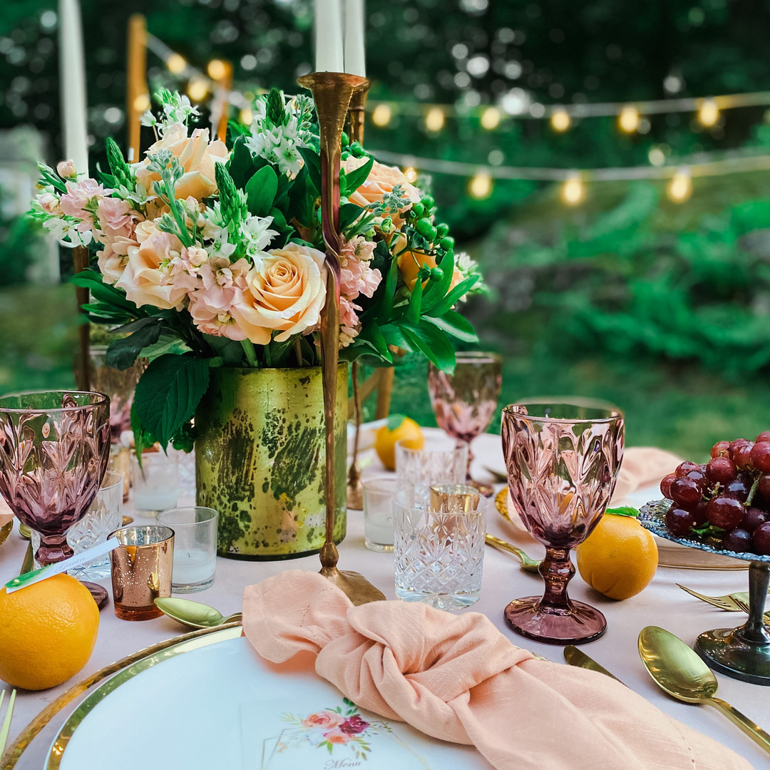 Wings Party Styling_Bohemian Tablescapes