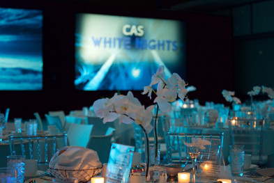 White Party Table Design