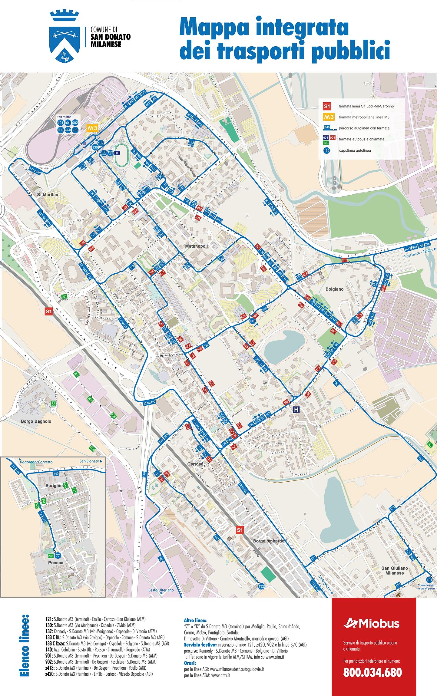 Trasporti pubblici San Donato Milanese