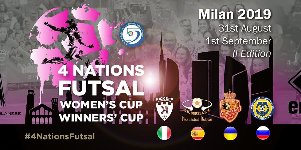 4 NATIONS FUTSAL WOMEN'S CUP