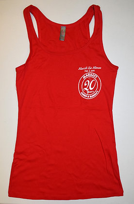 20th Anniversary Red Tank Top - Stretch