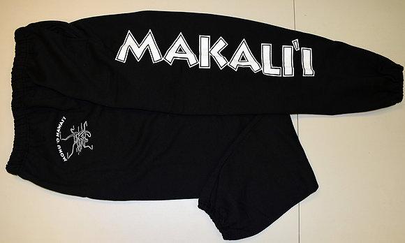 Blk Makali'i Sweat Pants