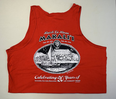 20th Anniversary Red Tank Top - Cotton