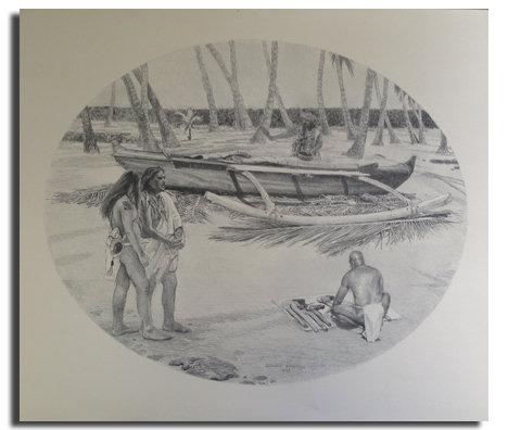 Mauloa Prints (set of 4)