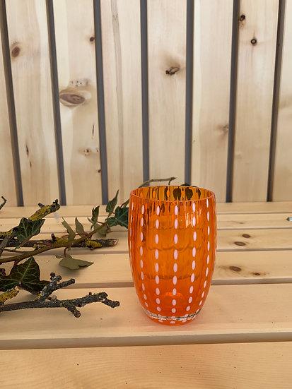 Zafferano Glas Orange