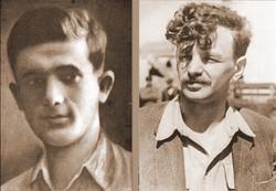 Komendanci ZOB i Powstania w Getcie 1943 - Anielewicz i Cukierman