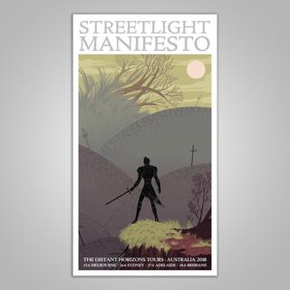 Streetlight Manifesto Australia Tour 2019 Poster