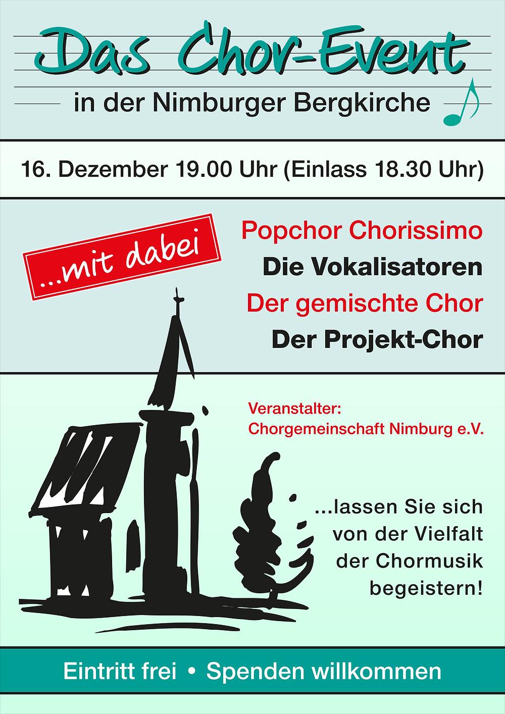 Das Chor-Event in der Bergkirche Nimburg