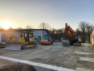 Update: Neubau Lagerhalle