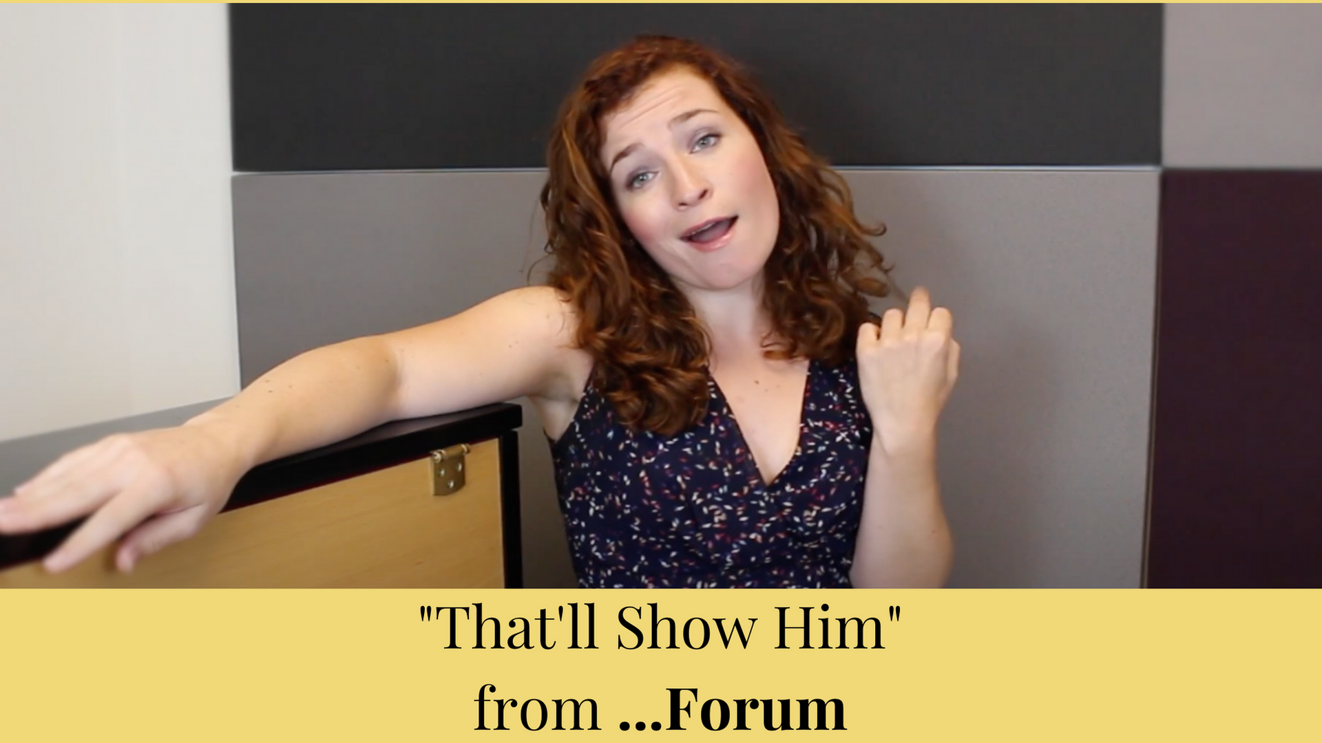 """""""That'll Show Him"""" from ...Forum"""