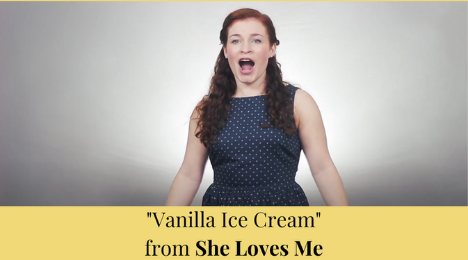 """Vanilla Ice Cream"" from She Loves Me"