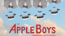 Catch THE APPLE BOYS at HERE Arts Center Nov. 30-Dec 23