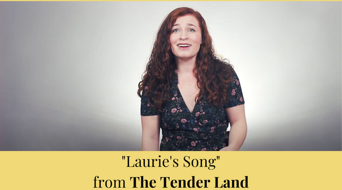 """""""Laurie's Song"""" from The Tender Land"""