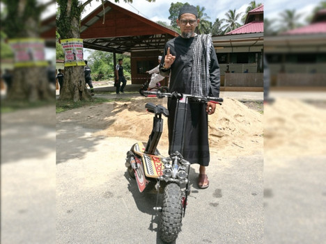 Infak Electric Scooter for Madrasah