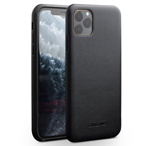 iPhone 11 Pro Max Shockproof Cowhide Leather Case