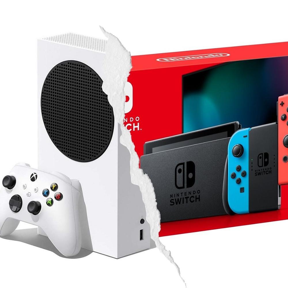 JB Hi-Fi Nintendo Switch and Xbox Series S Discounts