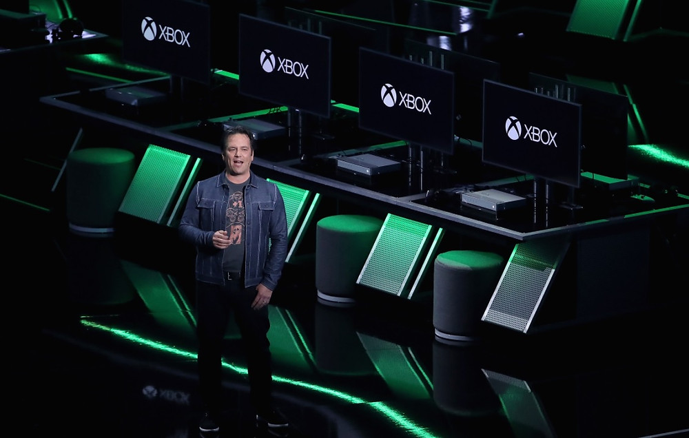 Phil Spencer at an Xbox event