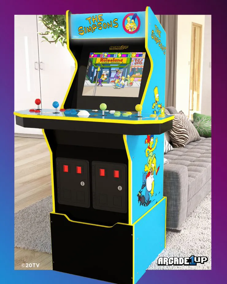The Simpsons Arcade Cabinets