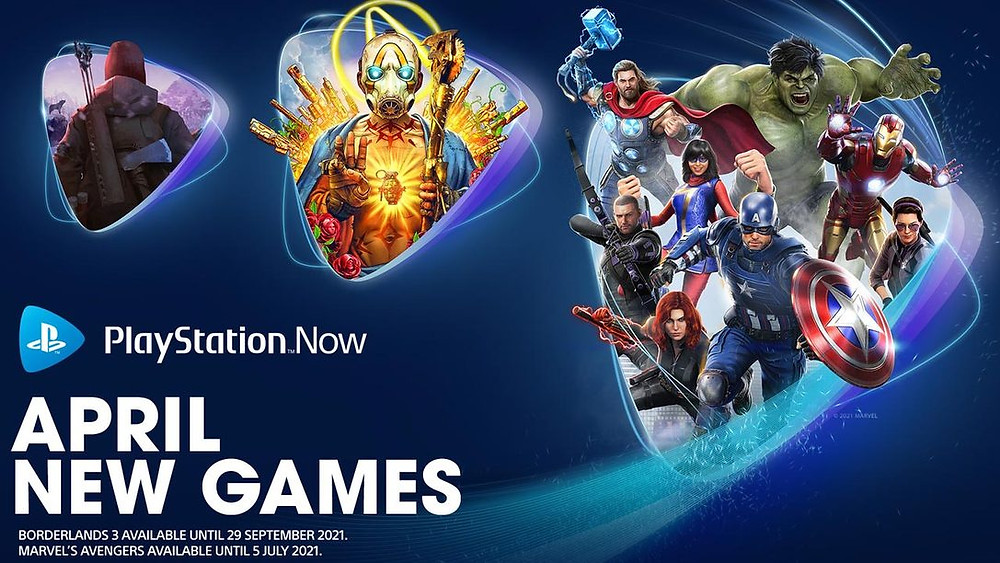 PlayStation New April Games