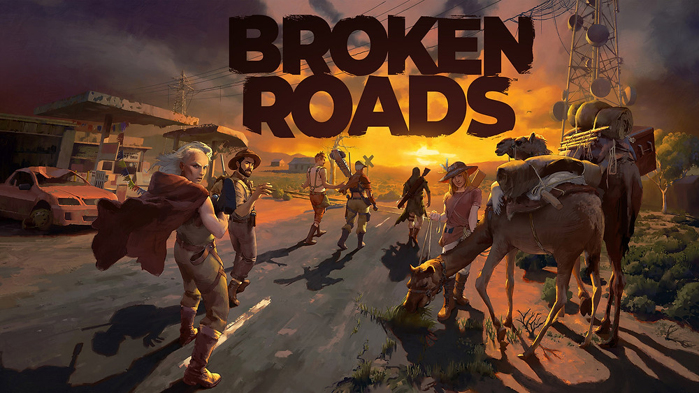Broken Roads Game Drop Bear Bytes