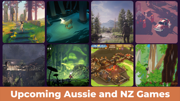 Upcoming Australian Made Video Games 2021