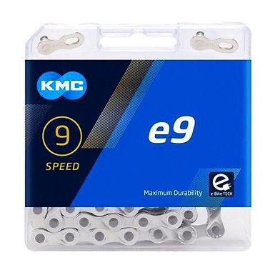 Řetěz KMC E9, stříbrný, 136 článků