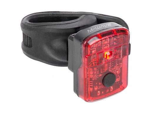 Zadní světlo M-WAVE Helios K 1.1 USB