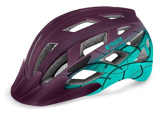 Cyklistická helma R2 LUMEN
