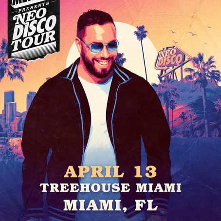 Morse X Code along side Mercer April 13th for the Neo Disco tour @ Treehouse Miami!