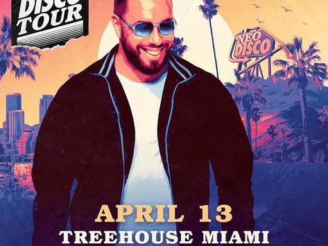 Morse X Code along side Mercer April 13th for the Neo Disco tour @ Treehouse Miami!