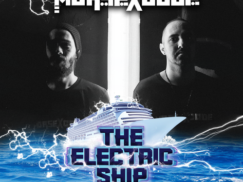 Morse X Code on The Electric Ship!