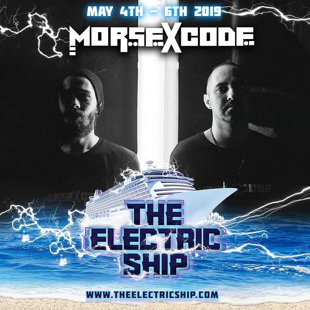 Morse X Code The Electric Ship Edm Cruise