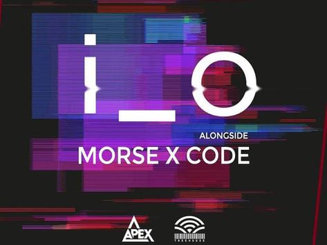 Morse X Code alongside I_O @ Treehouse Miami!!