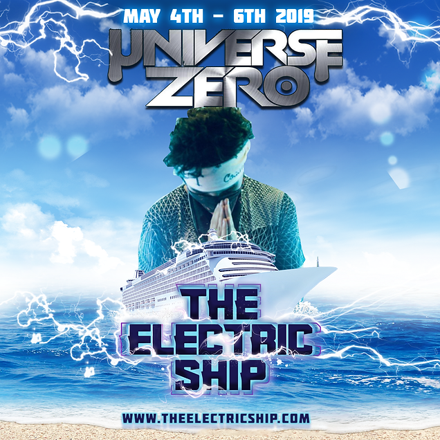 Universe Zero plays his first edm cruise