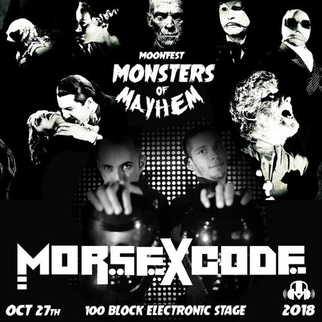 Morse X Code takes over Moonfest Mainstage!