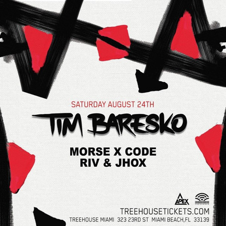 Morse X Code along side Tim Baresko @ Treehouse Miami!